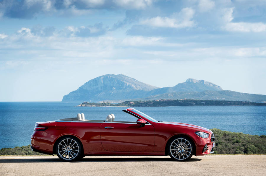 Mercedes-Benz E-Class cabriolet 2020 facelift - official images - static