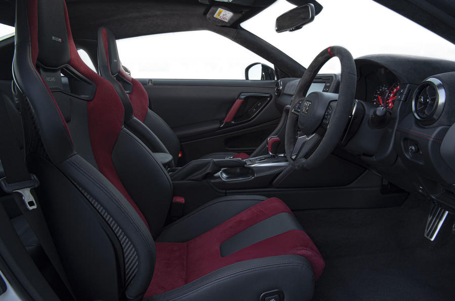 Nissan GT-R Nismo 2020 official reveal - cabin