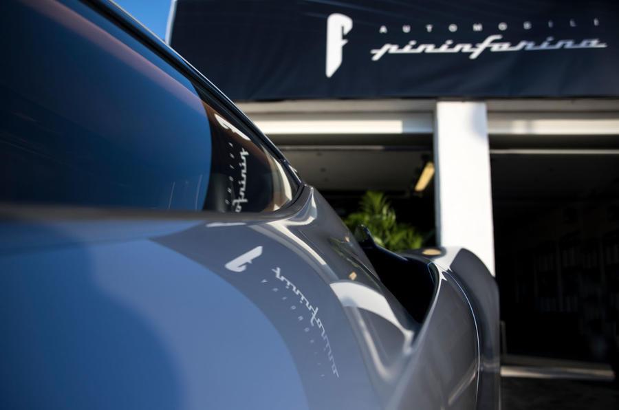 Pininfarina Battista customer preview event - rear quarterpanel