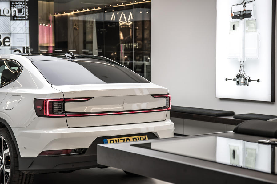 Polestar Space London opening official images - rear