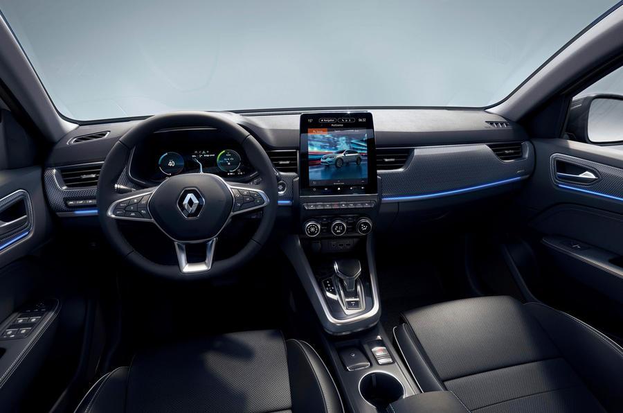 2021 Renault Arkana official European images - cabin