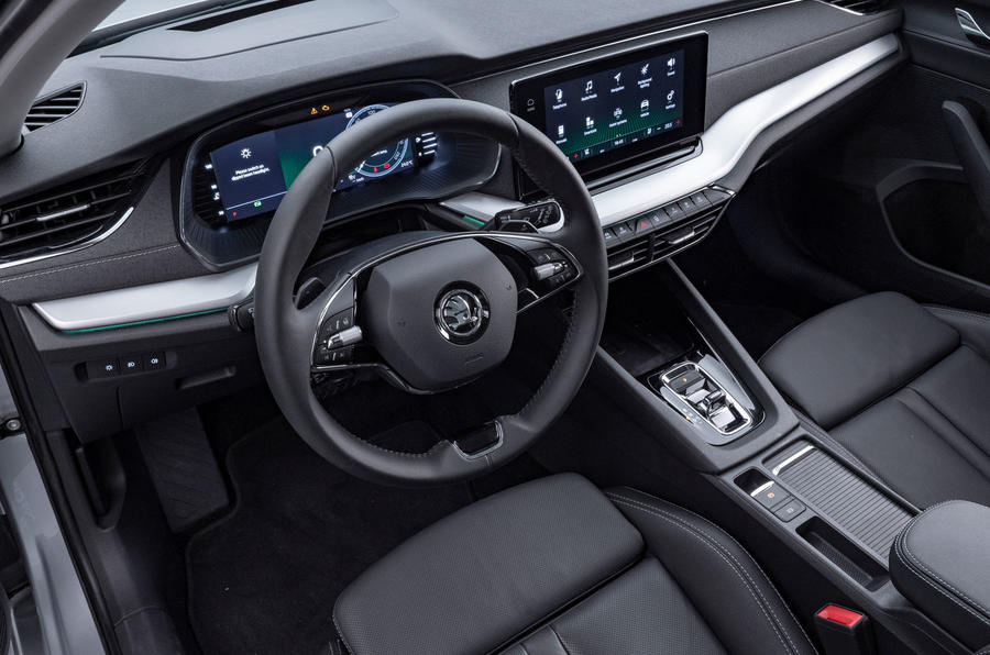2020 Skoda Octavia official studio - dashboard
