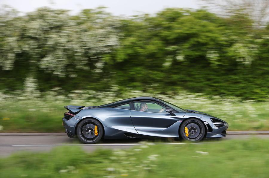 Top 50 cars 2020 - final five - McLaren 720S side