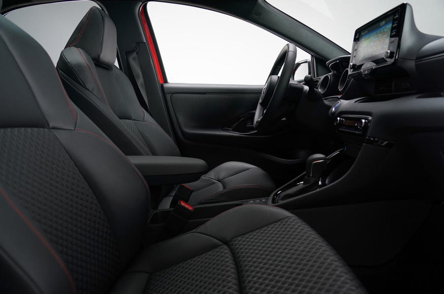 Toyota Yaris 2019 official studio - cabin