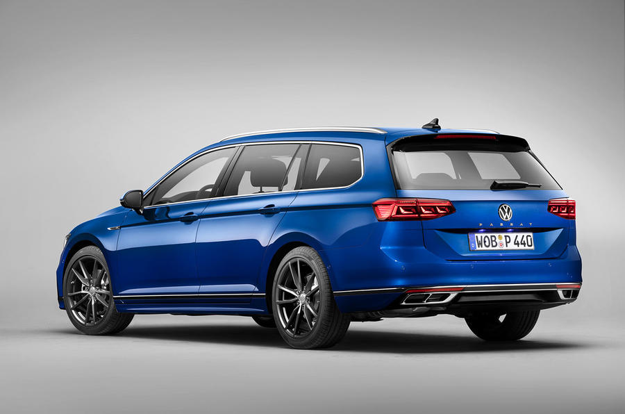 Volkswagen Passat 2019 press - static rear