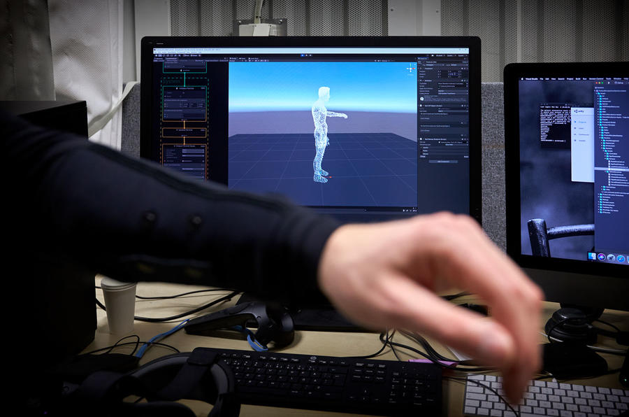 Volvo mixed reality simulator research - motion tracking