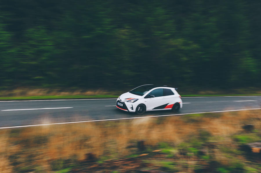 2019 Wales Rally GB preview in a Yaris GRMN - on the road right