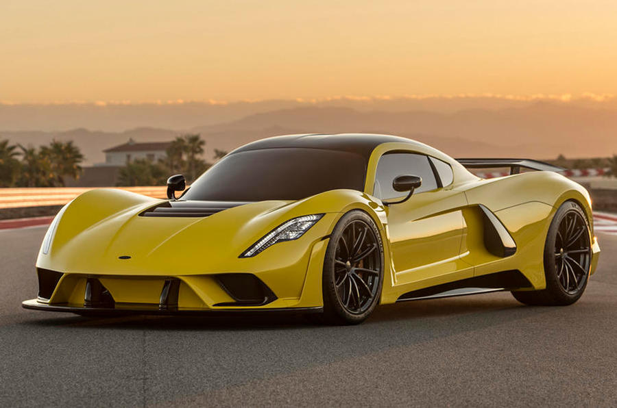 Upcoming high speed production cars - Hennessey Venom F5