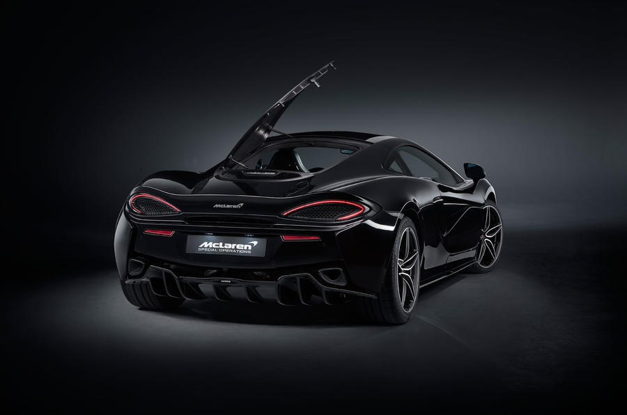 McLaren 570GT MSO Black Collection launched as limited-run variant