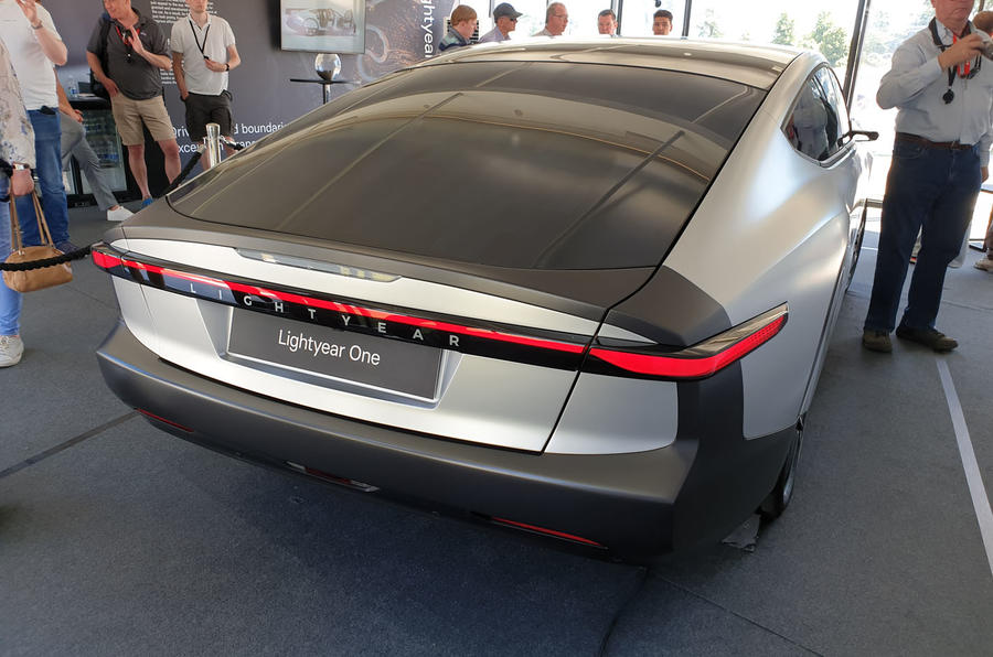 Lightyear One at Goodwood 2019 - static