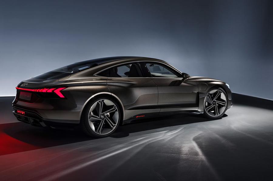 Audi E-tron GT concept static side