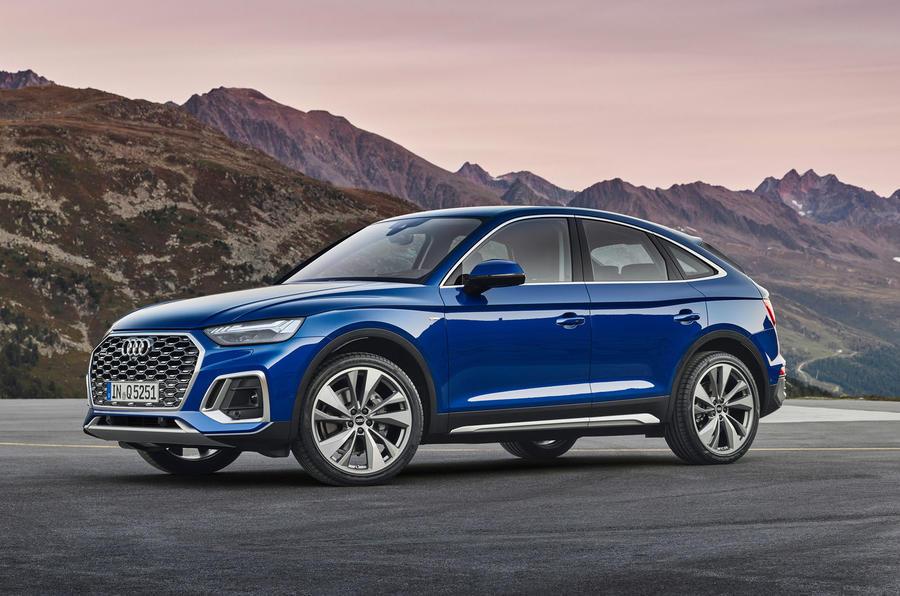 Audi Q5 Sportback 2020 official images - front