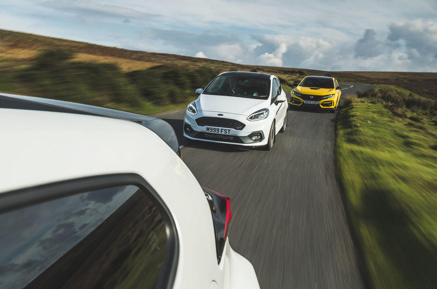 Britain's best affordable drivers car 2020 - Yaris rear tracking