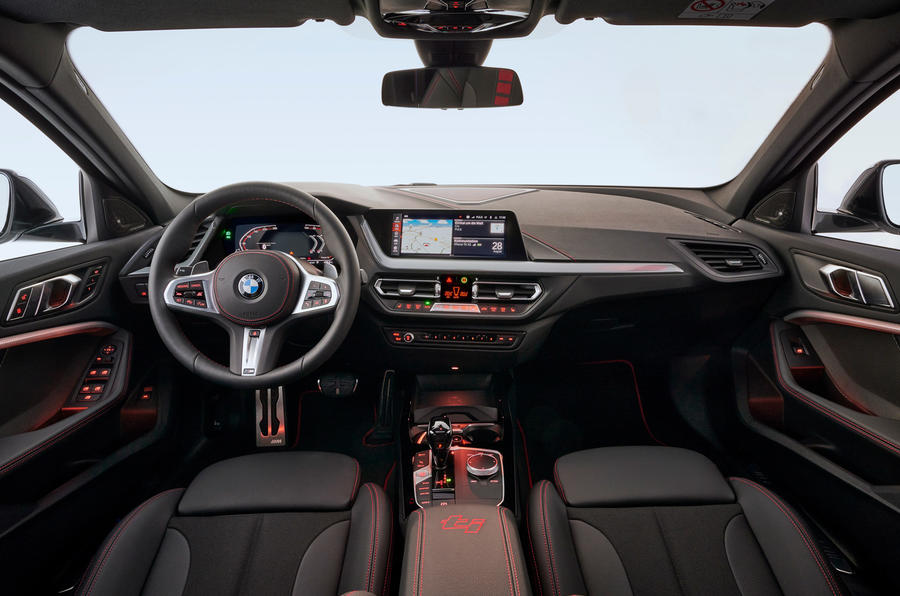 BMW 1 Series 128ti official reveal - dashboard