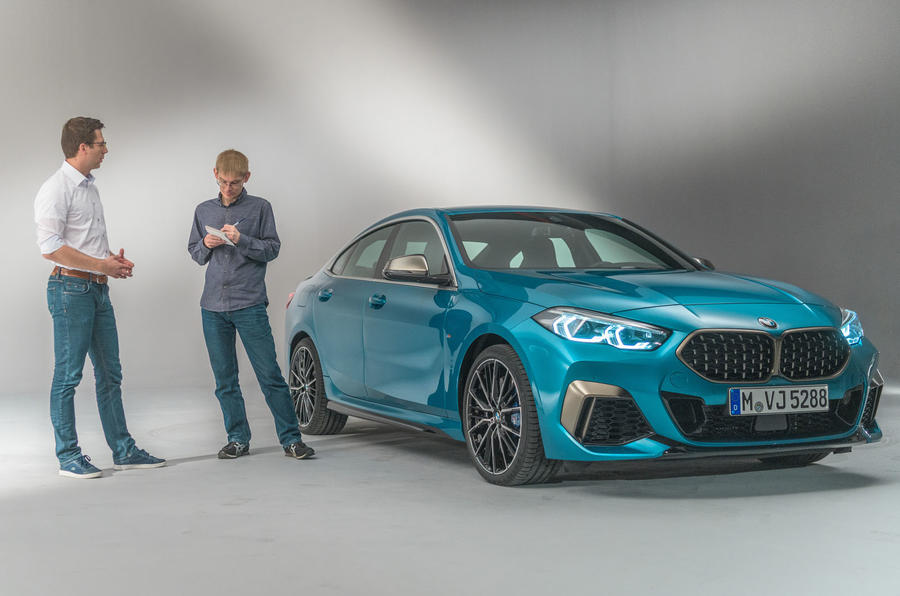 BMW 2 Series Gran Coupé studio reveal - interview