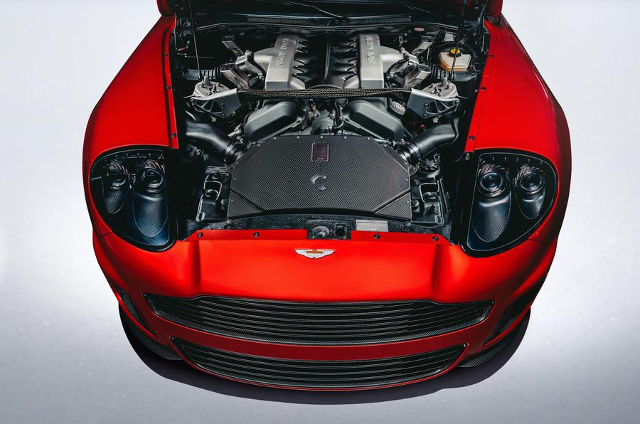 Callum Aston Martin Vanquish 25 first drive review - engine