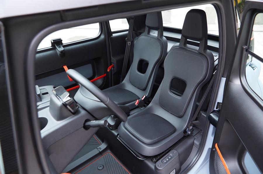 Citroen Ami (LHD) 2020 UK first drive review - seats