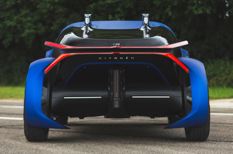 Citroen 19_19 concept prototype drive - rear end