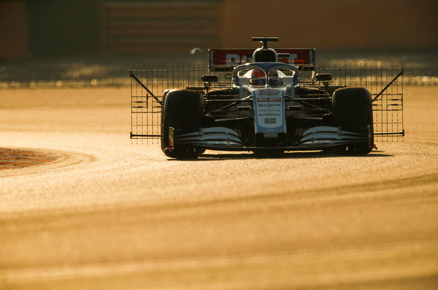 Claire Williams exclusive Autocar interview - Williams F1 testing scaffolding