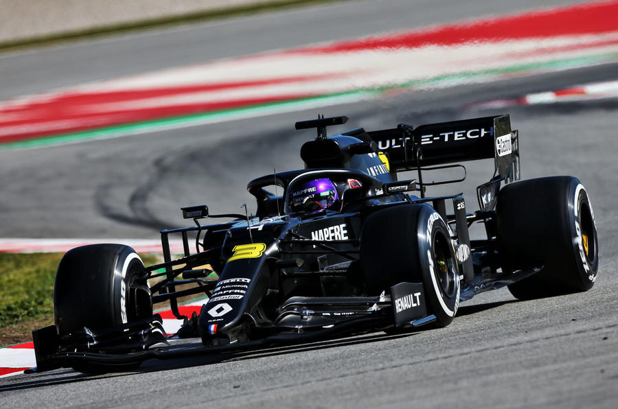 Daniel Ricciardo interview - livery