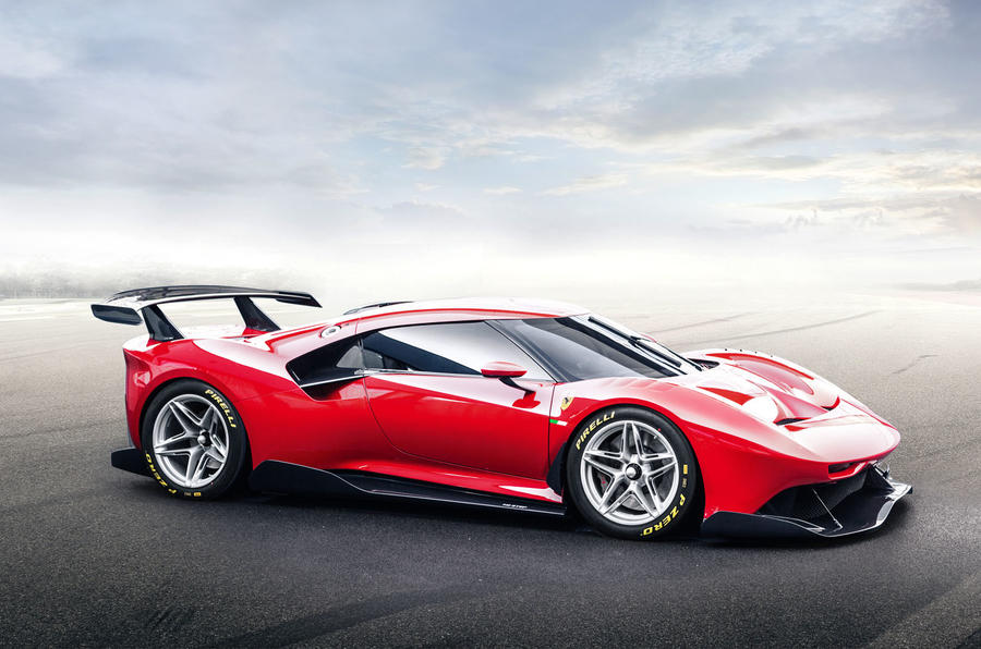 Ferrari P80/C 2019 reveal official pictures - render front