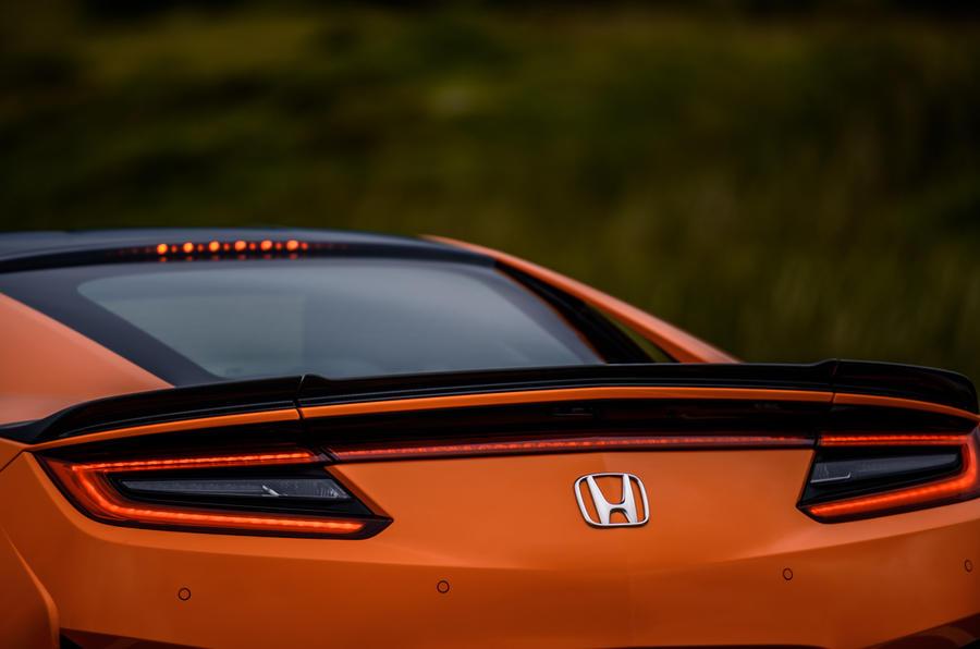 Honda NSX hybrid supercar feature - rear end