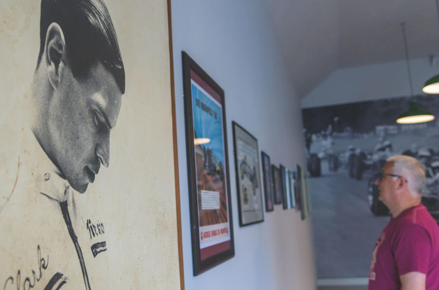 Jim Clark Museum preview day - posters