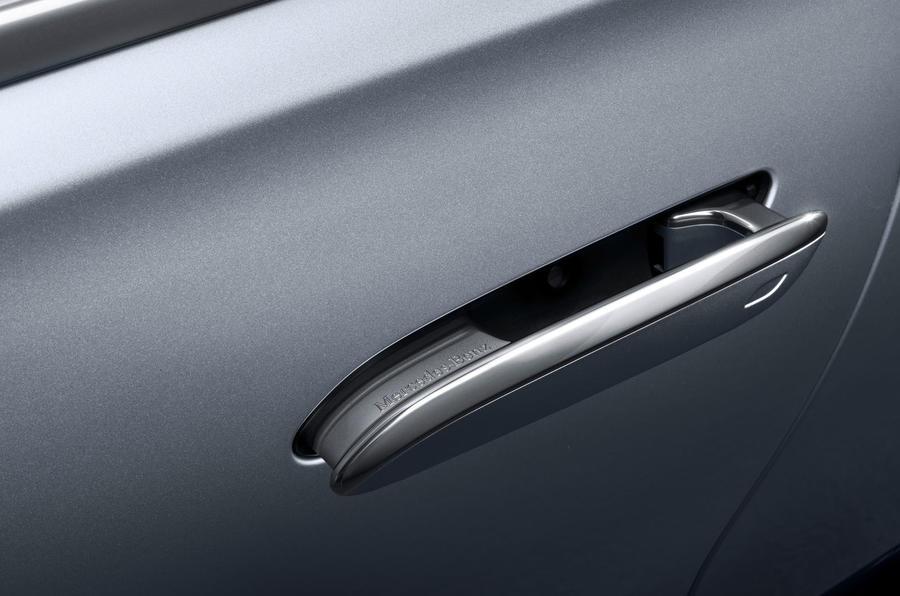 2021 Mercedes-Benz S-Class official reveal images - door handles