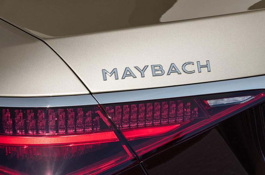 2021 Mercedes-Maybach S-Class official images - rear badge
