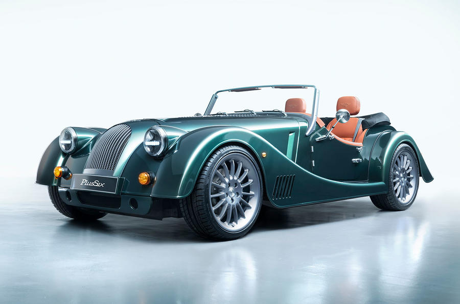 Morgan Plus Six 2019 official press images - static front
