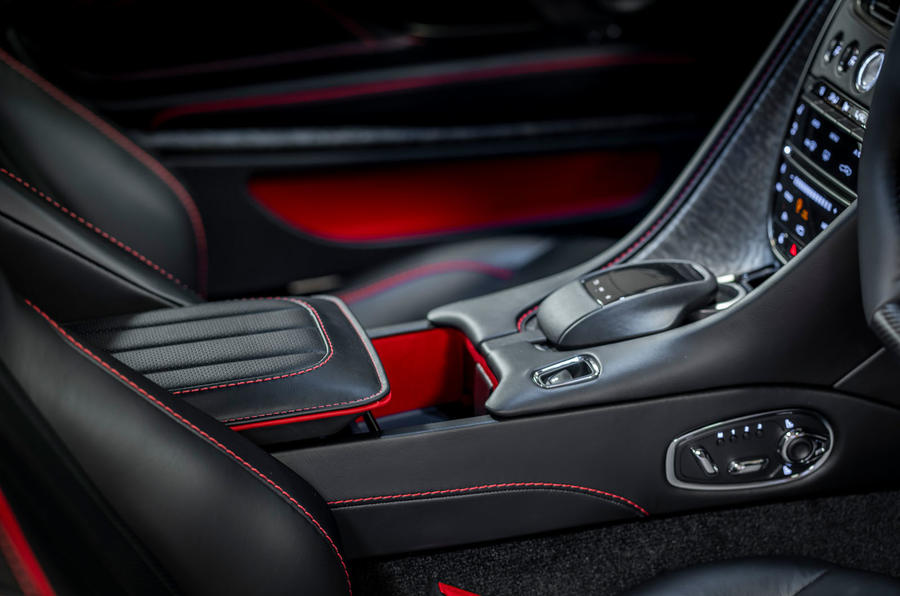 Aston Martin On Her Majesty's Secret Service Superleggera - interior trim