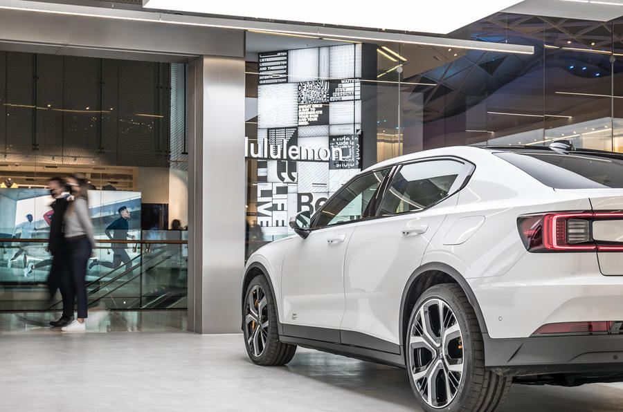 Polestar Space London opening official images - side