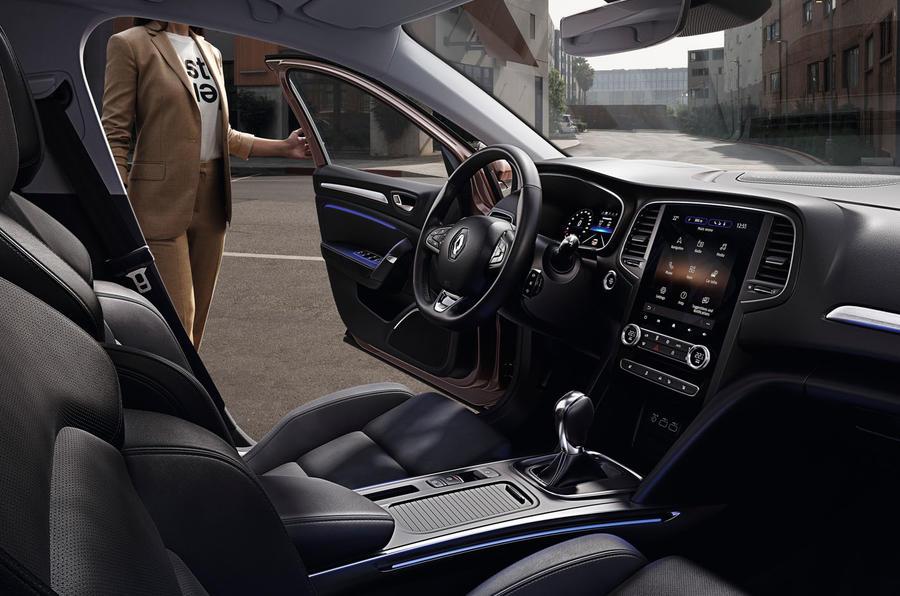 Renault megane 2020 refresh - cabin