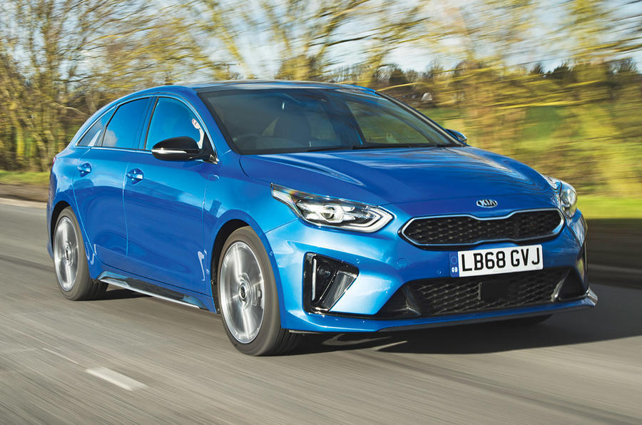 Top 10 style saloons 2020 - Kia Proceed