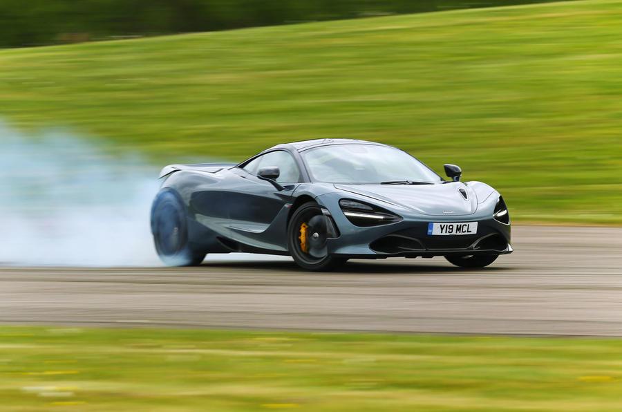 Top 50 cars 2020 - final five - McLaren 720S front