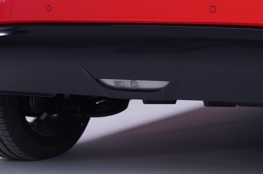 Toyota Yaris 2019 official studio - rear bumper