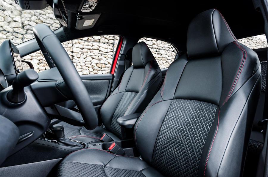 2020 Toyota Yaris prototype drive - cabin
