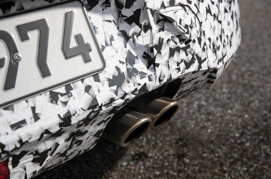 Vauxhall Corsa 2019 prototype drive - exhaust