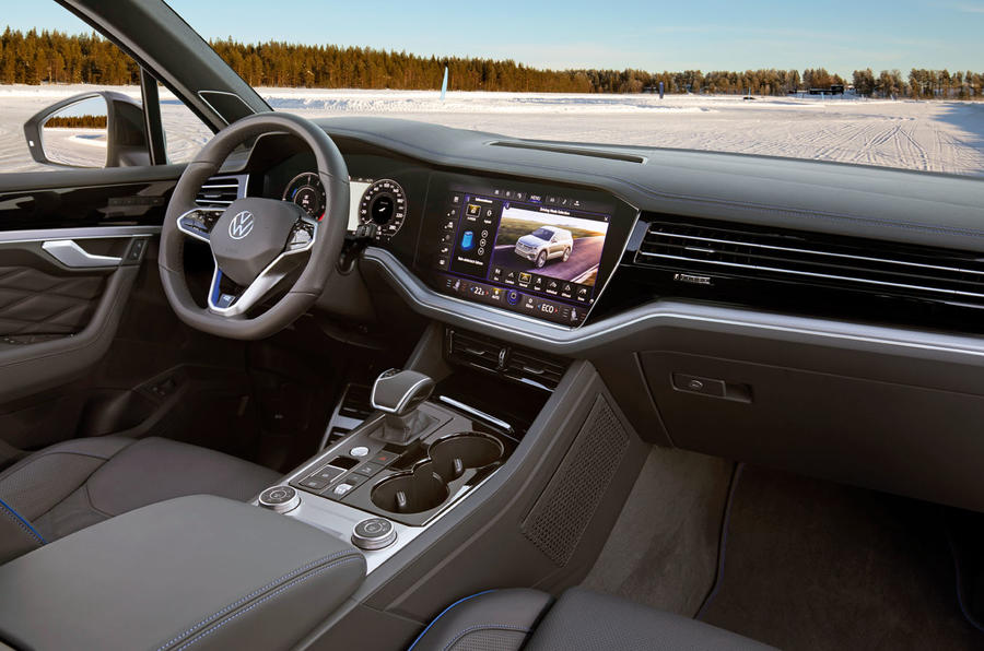 Volkswagen Touareg R 2020 official reveal images - dashboard