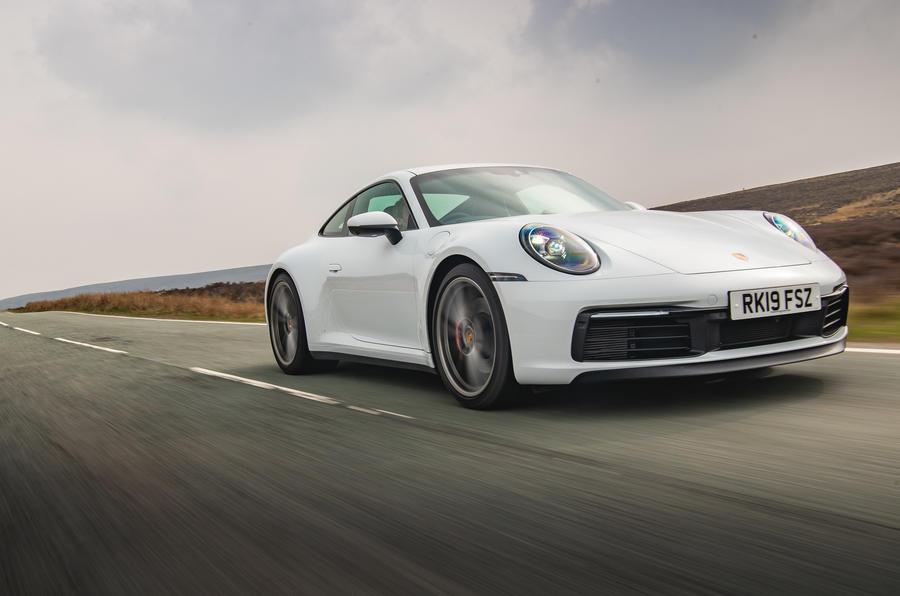 2019 Porsche 911 road test - hero front