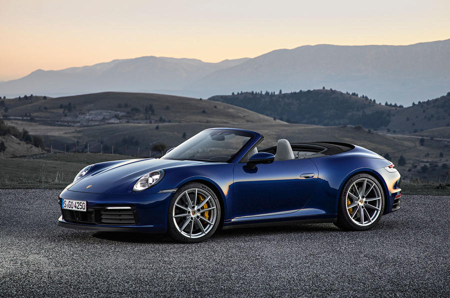 New 2019 Porsche 911 Cabriolet Revealed Autocar