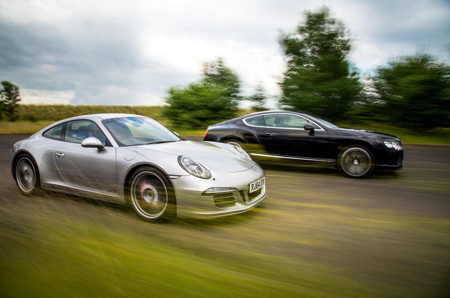 Car Leasing Comparison >> New Porsche 911 versus used Bentley Continental GT - comparison | Autocar