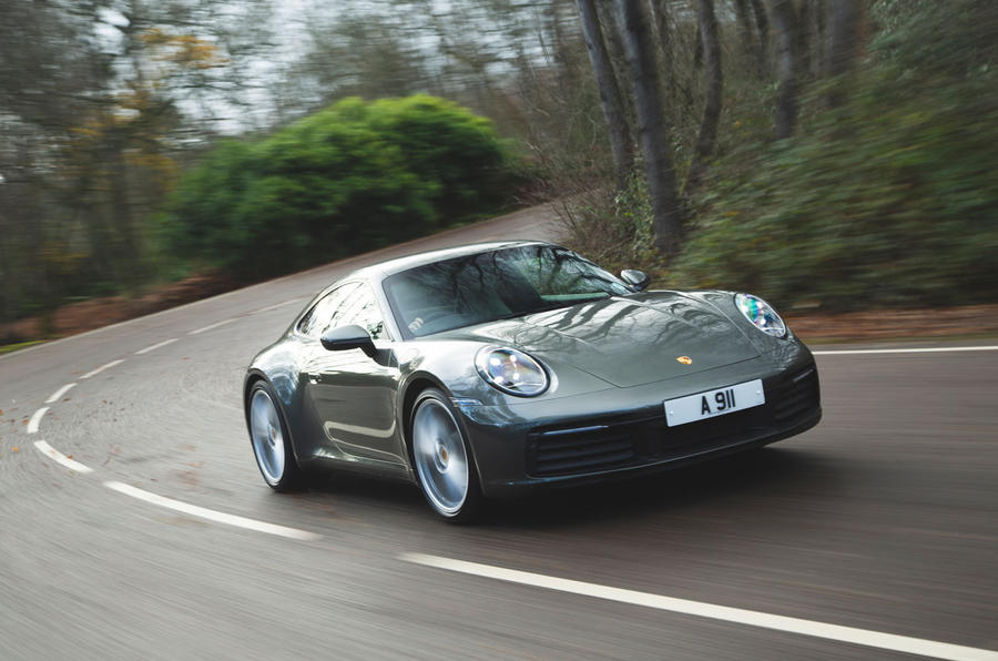 Porsche 911 Carrera 2019 UK first drive review - hero front