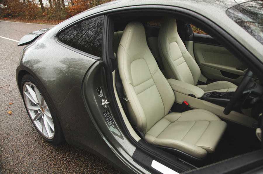 Porsche 911 Carrera 2019 UK first drive review - seats
