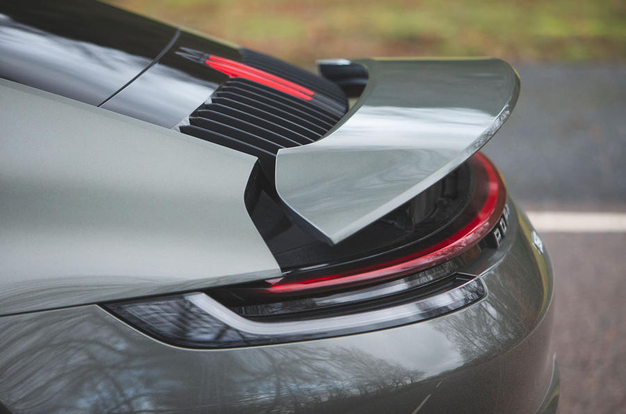 Porsche 911 Carrera 2019 UK first drive review - spoiler