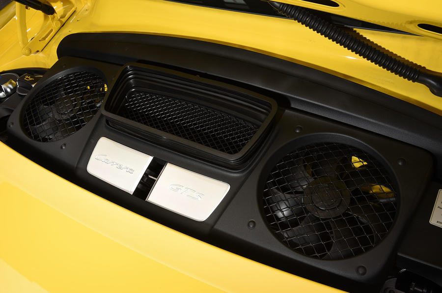 3.8-litre Porsche 911 C4 GTS engine
