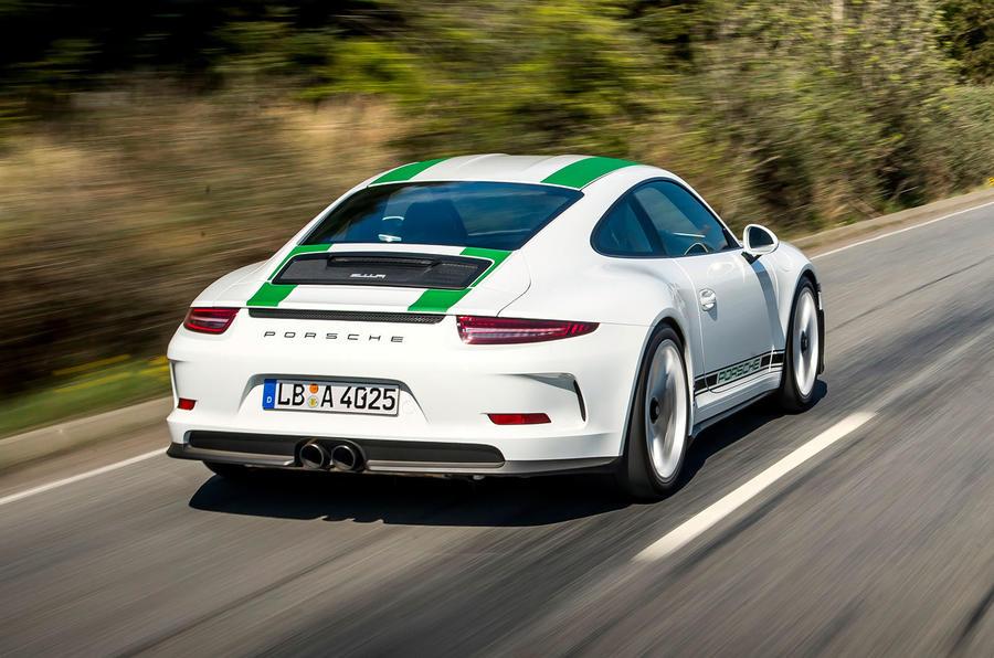 2016 porsche 911 r review review autocar porsche 911 r porsche 911 r rear sciox Images