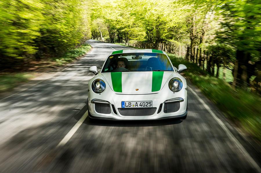 Porsche 911 R front end