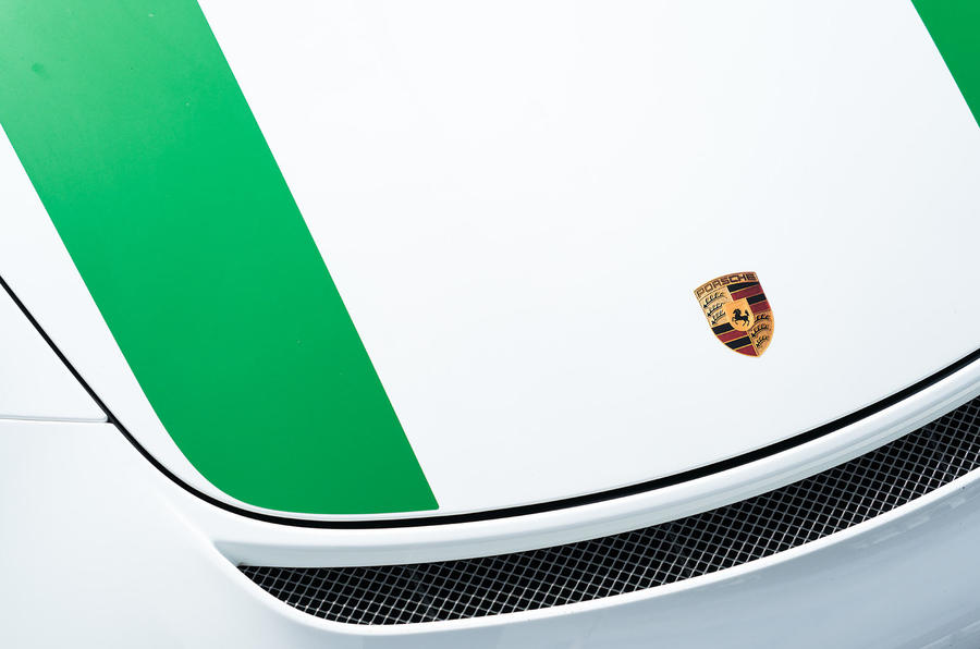Porsche enamel badge