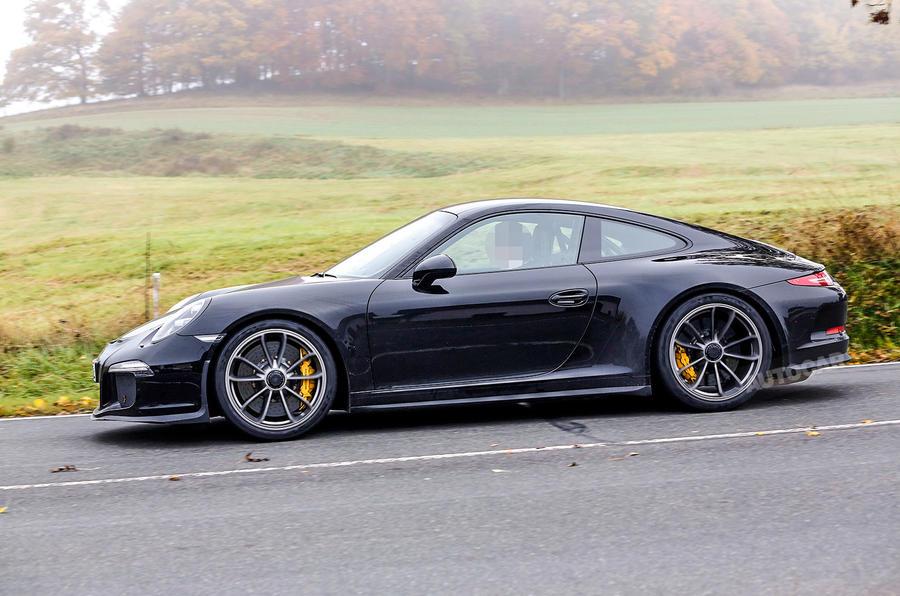 2017 Porsche 911 R Latest Spy Pictures Autocar